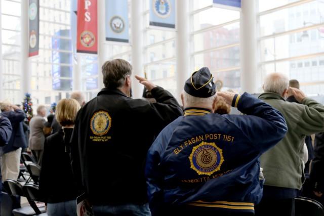 Veteran dedication in Rochester, New York