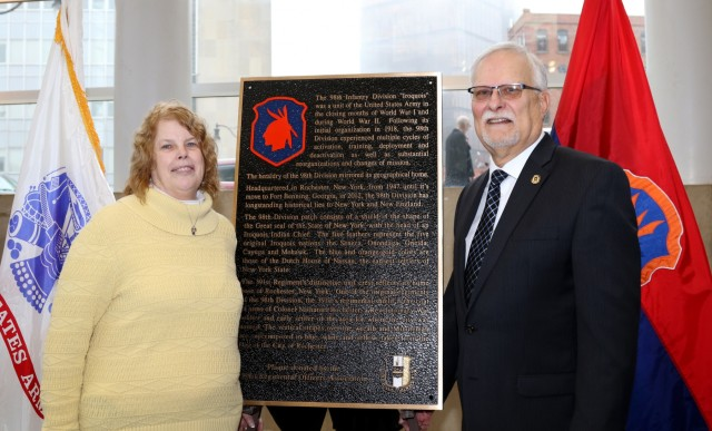 Niece of Chaplain Heindl attends military ceremony in New York