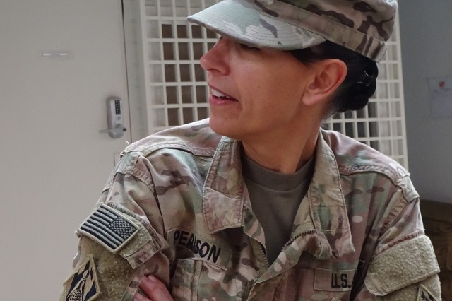 Lt. Col. Malia Pearson looks back at her deployment time at the Kandahar Project Delivery Platform.