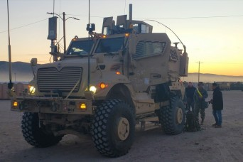 Newest electronic warfare vehicle tested at Fort Irwin