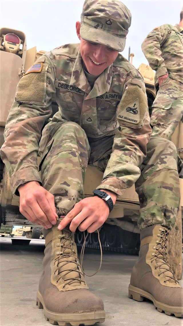 Iron Soldiers paves the way in Army footwear