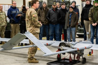 Students partner with Soldiers to learn about drones, tech careers