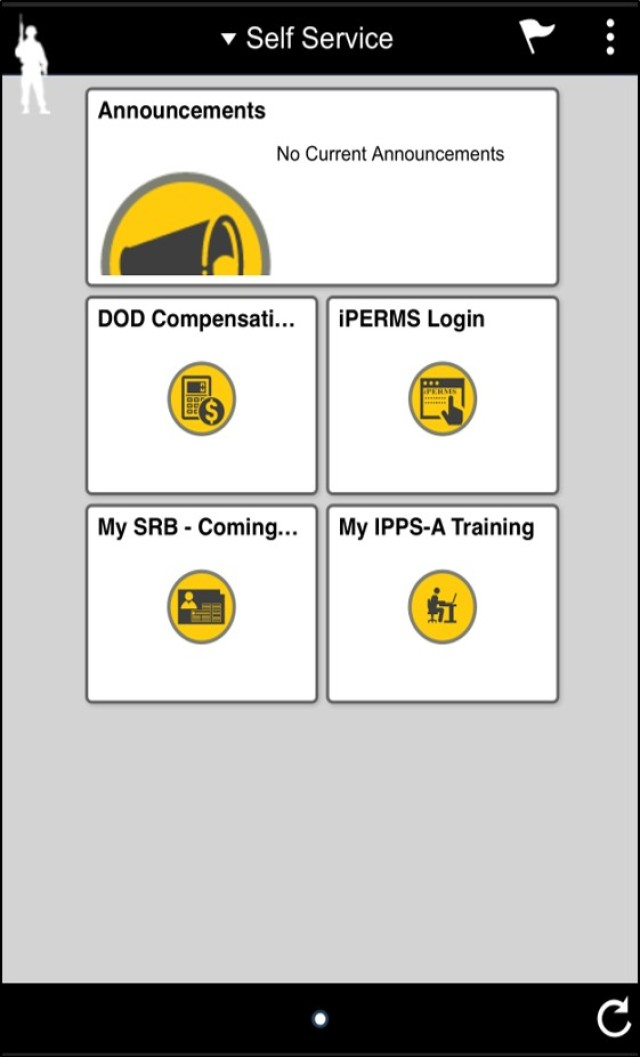 Tip of the Innovation Spear: U.S. Army Provides Mobile access to Soldier HR and Pay Records