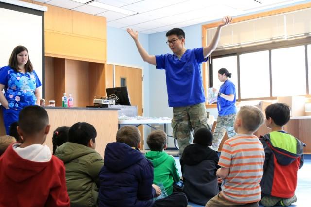 Children's Dental Health Month: Healthy Smiles on Camp Humphreys