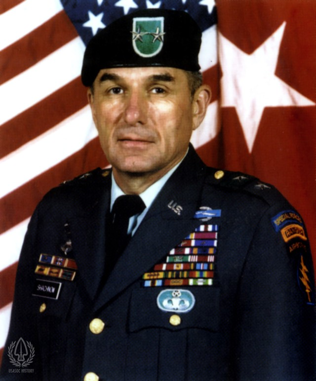 Major General Shachnow brief history