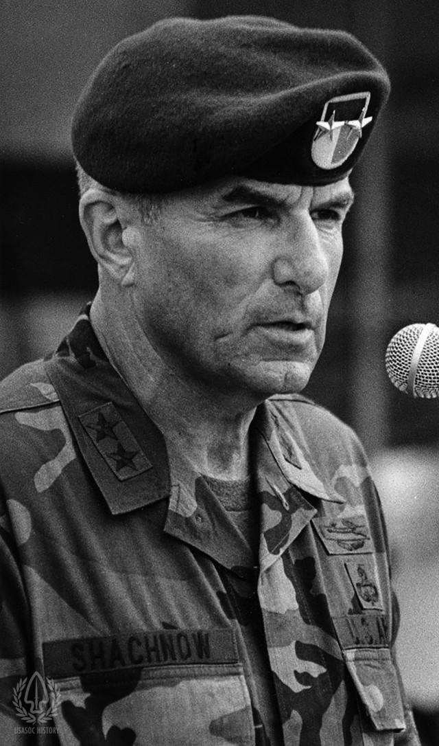 Major General Shacknow brief history