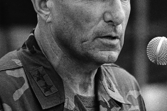 Maj. Gen. Sidney Shachnow was a Holocaust survivor from Lithuania who became a key Army Special Forces leader in the post-Vietnam War period.