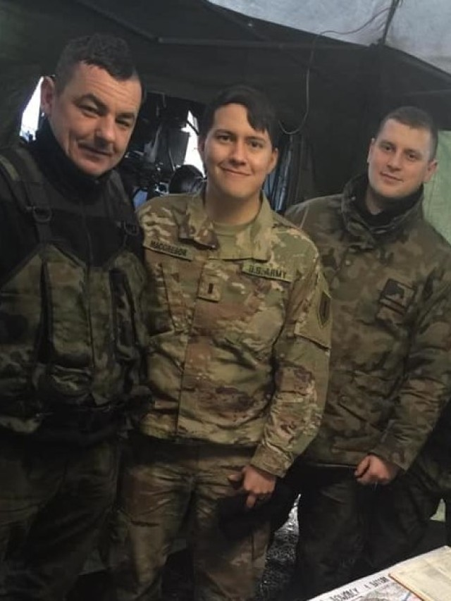 """""""Hamilton's Own"""" soldiers integrate with Polish counterparts"""