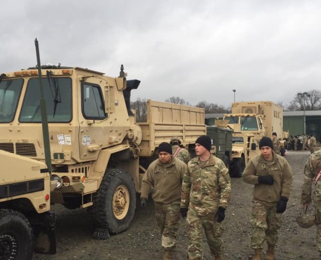 Devil Brigade on the move in Europe