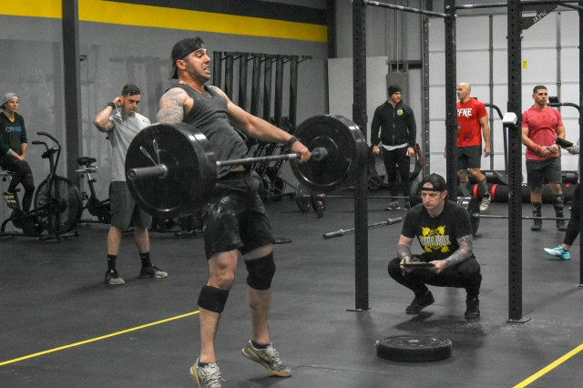 U.S. Army Warrior Finess Team tryouts