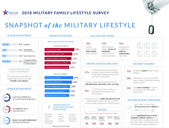 Surveys point to cause of military morale issues