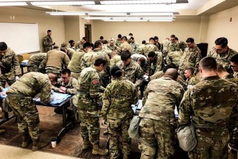 Bulldogs Engage In Battle Focused Medical Training
