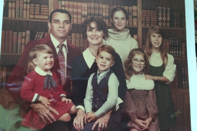 Our family...about 1978. We were spoiled rotten.