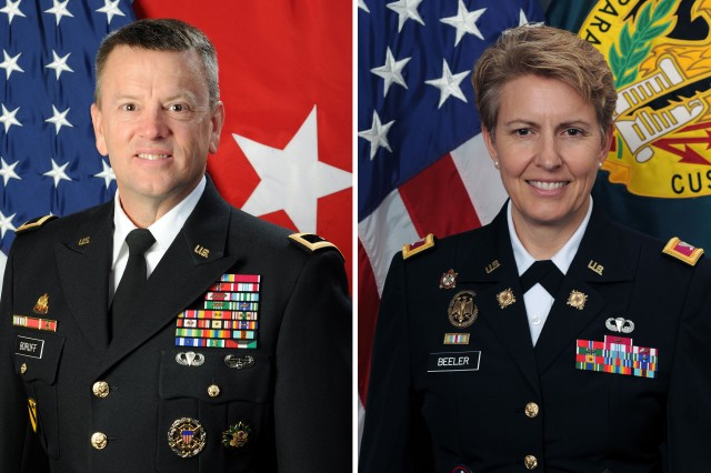 The Army chief of staff announced Feb. 19 that Col. Christine A. Beeler will assume command of the Mission and Installation Contracting Command from Brig. Gen. Bill Boruff in a ceremony July 9 at Joint Base San Antonio-Fort Sam Houston, Texas.