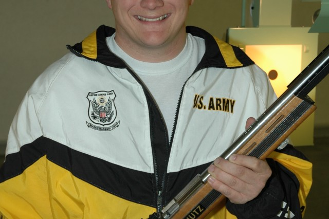 Olson has retired from the Army and competitive shooting, but now wants to try new sports and, hopefully, represent Team Army at the 2019 Department of Defense Warrior Games in Tampa Fla., June 21-30.
