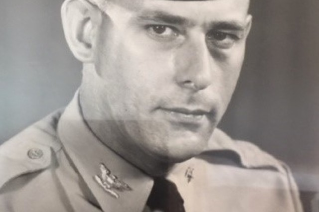 Col. George Westlake official photo from the 1970s.