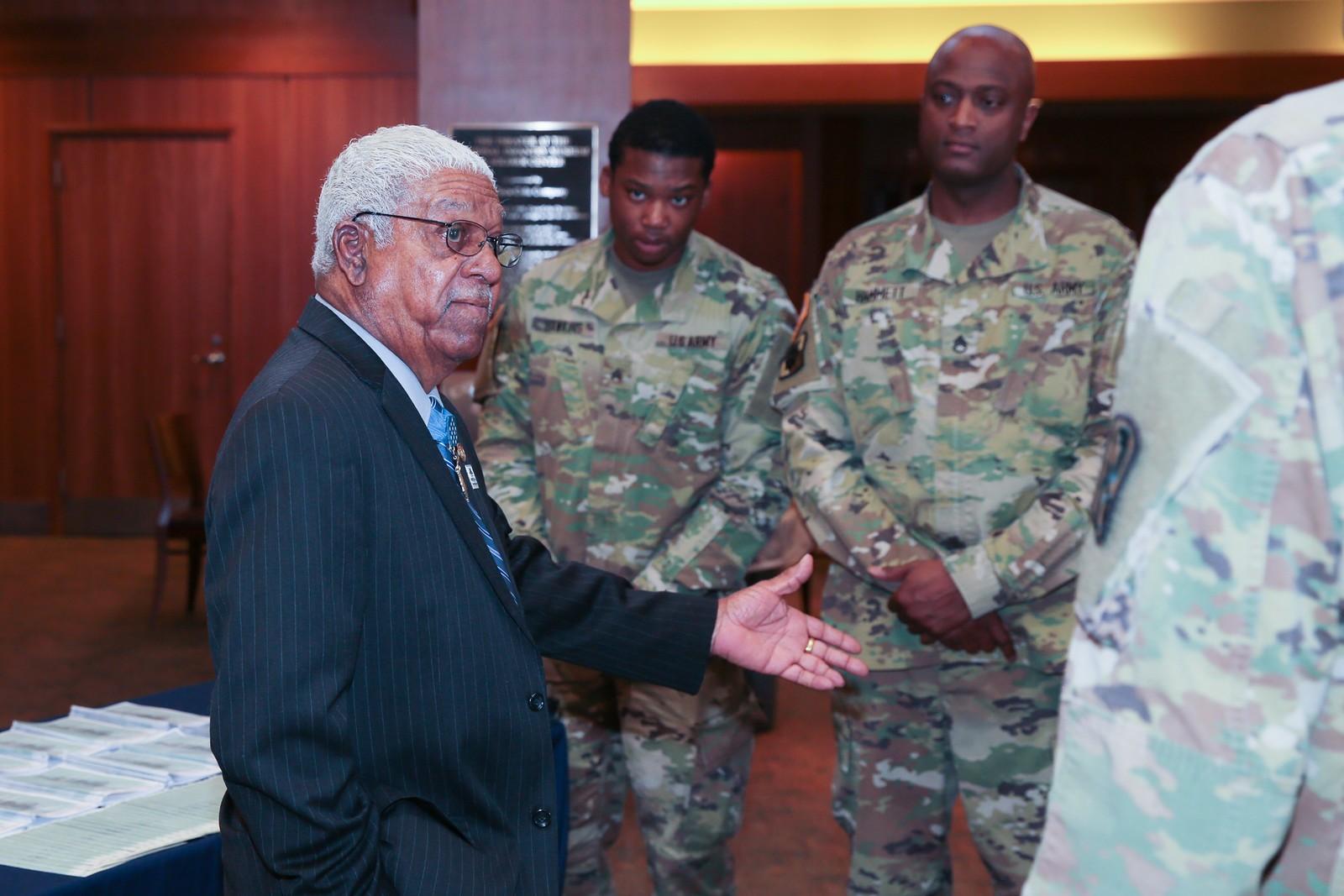 Black Army Soldier