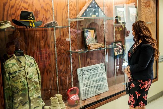 Command Sgt. Maj. Bolyard Building Dedication Ceremony