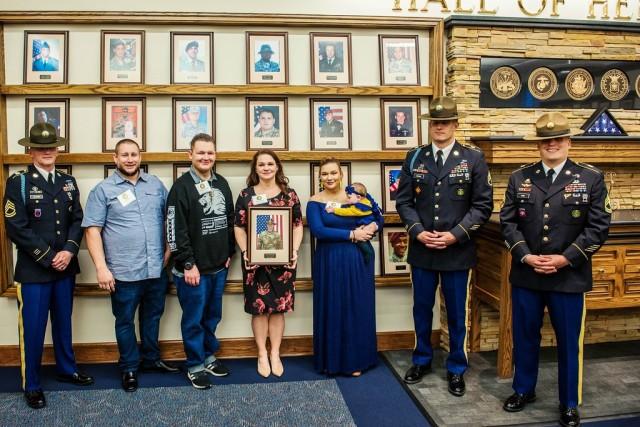 Command Sgt. Maj. Bolyard Hall of Heroes Ceremony