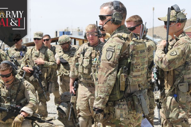 Acquisition Soldiers field forward-deployed SFAB tactical network modernization on the fly.