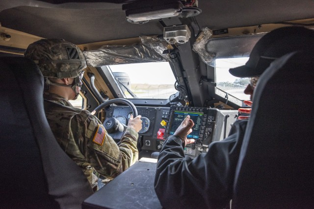 Soldiers with 3rd Infantry Division's 1st Armored Brigade Combat Team take part in operator training for the Joint Light Tactical Vehicle at Fort Stewart, Ga., Feb. 12, 2019. The JLTV is designed to replace many of the service's Humvees. Future plans are to procure over 49,000 JLTVs for the Army and about 9,000 for the Marine Corps by the mid-2030s, as part of a joint acquisition effort.