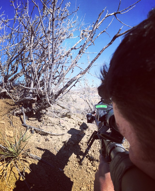 Ivy Division 2IBCT snipers fire 8-K rounds testing new small arms sniper rifle upgrade
