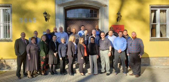 Supervisor Leadership Course participants