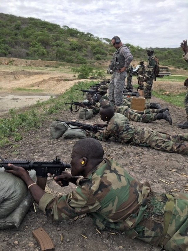 Expedited weapon delivery to Senegal proves process