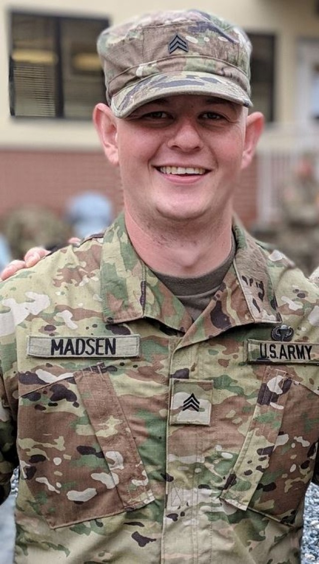 CYBER SNAPSHOT: Sgt. Drew C. Madsen
