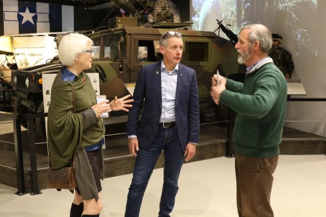 Granddaughter of famed General Patton visits 101st Airborne Division