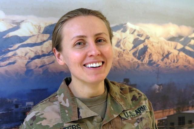 Maj. Korneliya Waters (Photo by Jon Micheal Connor, Army Public Affairs)
