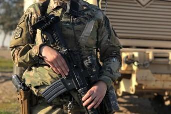 International Women's Day 2019: Portrait of a U.S. Soldier in Iraq