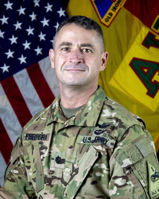 Iron Eagles Welcome New Deputy Commander