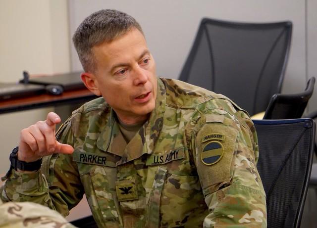 Col. Parker, FORSCOM G2