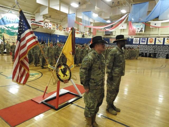 2nd Squadron, 1st Cavalry Regiment commemorates a successful deployment