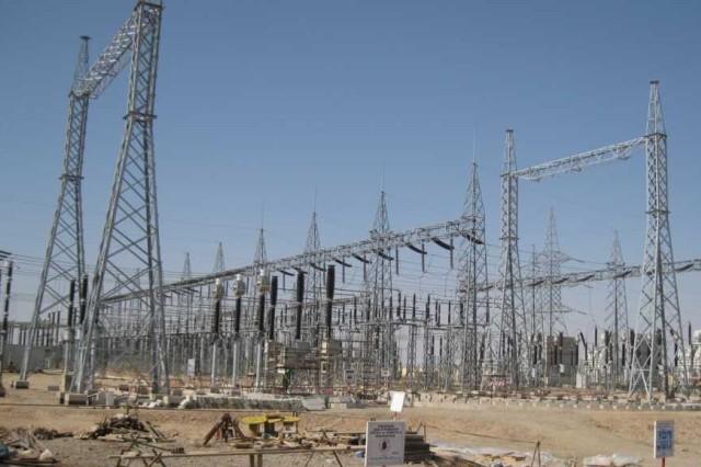 Overall view of Naiabad substation.