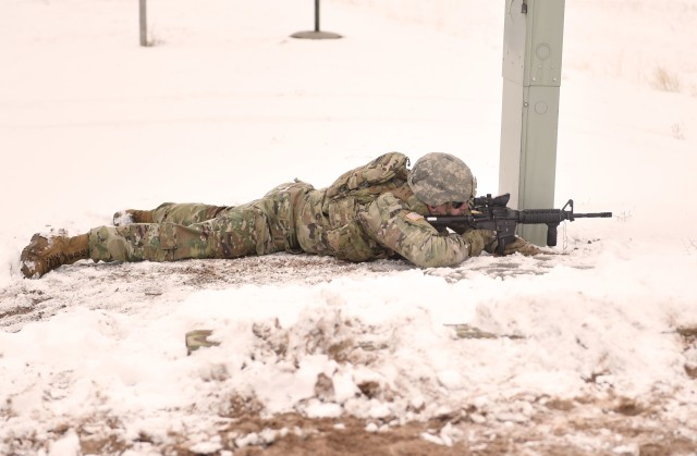 Wyoming National Guard practices proposed Army marksmanship standards