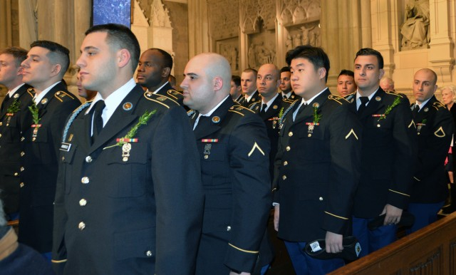 New York National Guard troops lead NYC St. Patrick's Day Parade for the 168th time