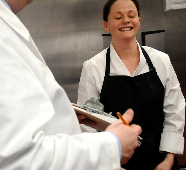 Fort Myer, Va., chef gets reassurance