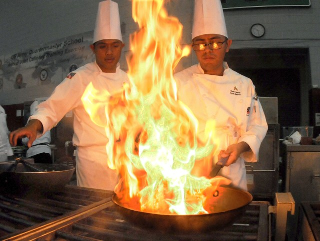 Kitchen heat: culinary specialists serve up their best at training event