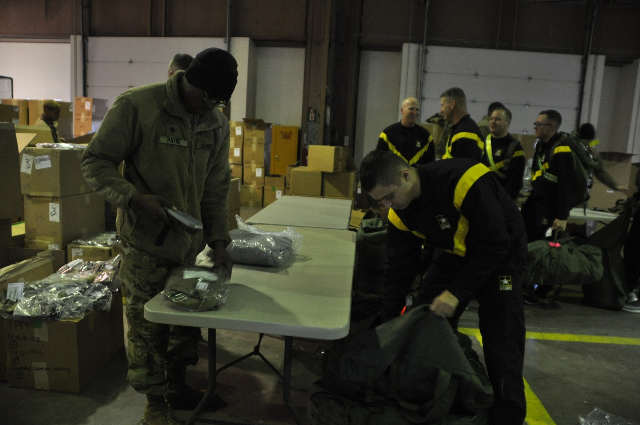 4-3rd ADA Soldiers gather new gear for deployment | Article