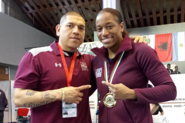 Sgt. 1st Class Joe Guzman, an assistant with USA Boxing and former World Class Athlete coach, helped Staff Sgt. Naomi Graham become one of the top boxers in the world.