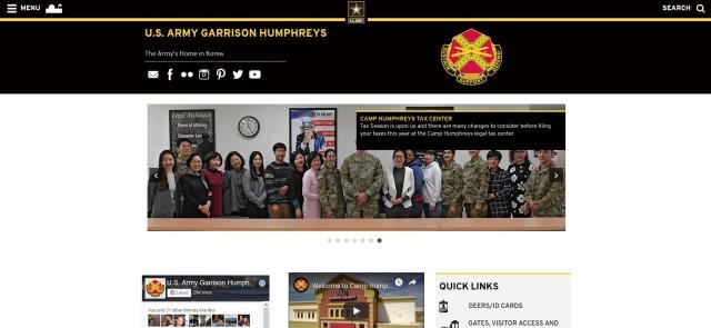 USAG Humphreys New Website