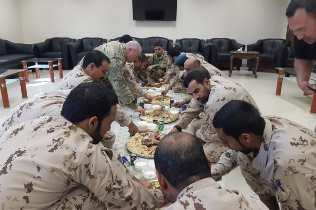 United Arab Emirates Patriot battalions and U.S. Patriot 1-43 Air Defense Artillery Battalion out of Al Dhafra Air Base meet monthly for seminars, key leader engagements, professional working groups and social gatherings. These events help build and sustain long-term relationships.