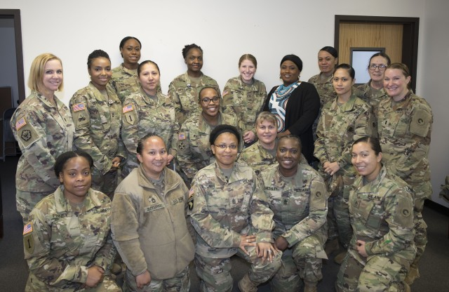 Sisters in Arms -- 1st TSC launches new mentorship program