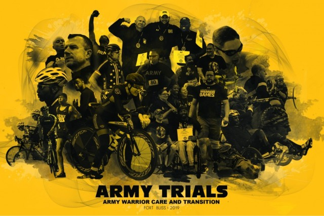 Over 80 wounded, ill and injured Soldiers and veterans came to Fort Bliss, Texas, to compete for a spot on Team Army for this year's 2019 Department of Defense Warrior Games. After 10 days of intense competition in 14 different sports, the 2019 Army Trials is coming to a close.