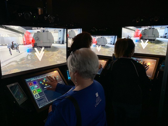 STEM vehicle highlights technology at Spurs Military Appreciation Night