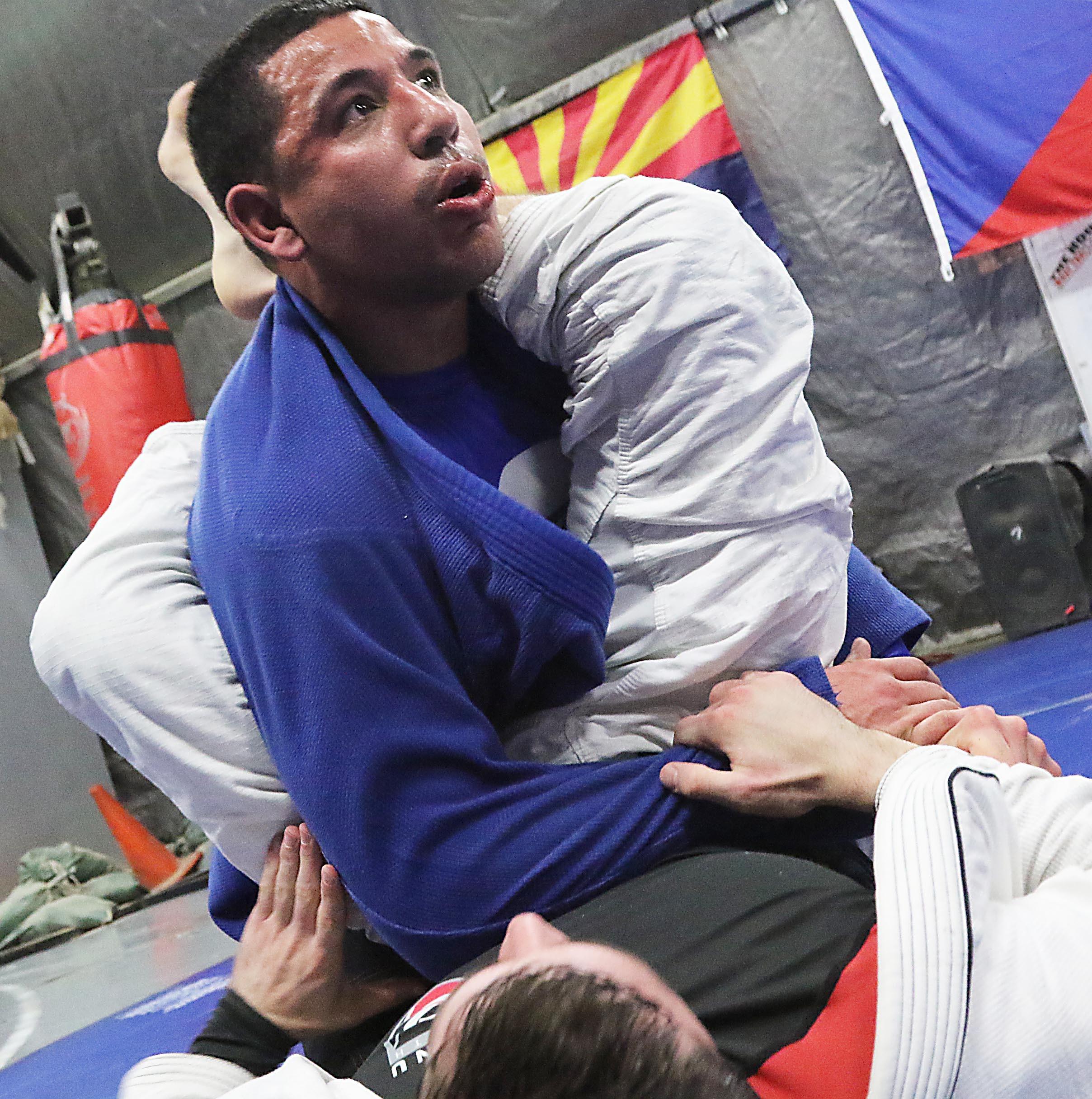 Brazilian Jiu-Jitsu offers Soldiers a change in routine