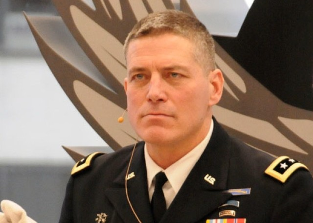 Ostrowski Discusses the Five steps to working with the U.S. Army