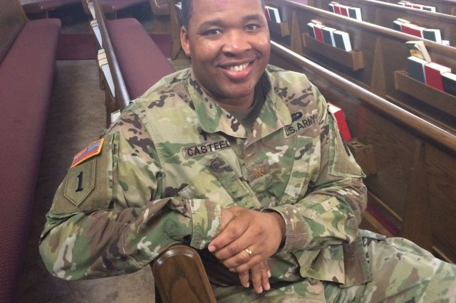 Chaplain (Maj.) Bryant Castell is the Joint Base Myer-Henderson Hall's family life chaplain.